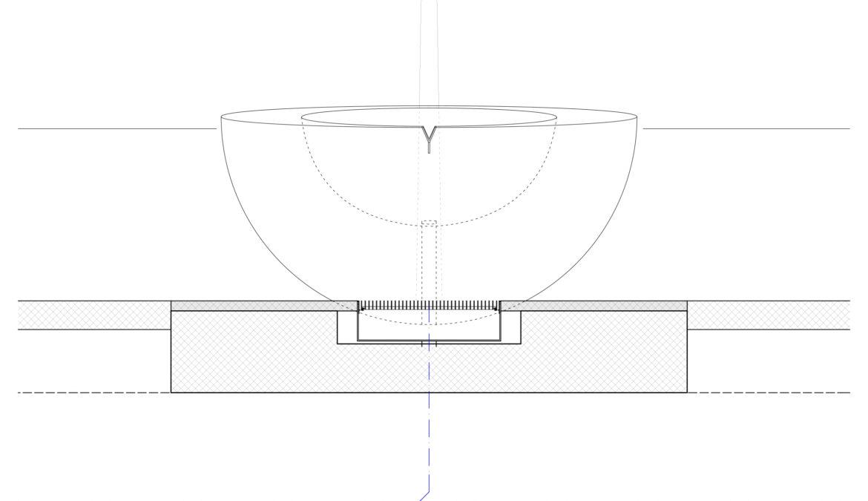 Neugestaltung Brunnen Pfarreizentrum Guthirt 10