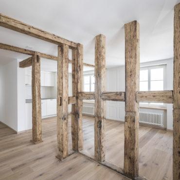 Umbau und Sanierung Mehrfamilienhaus 1