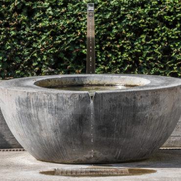 Neugestaltung Brunnen Pfarreizentrum Guthirt 1
