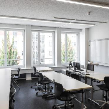Sanierung und Anbau in Etappen Berufsfachschule für Lernende mit Hör- und Kommunikationsbehinderung 3