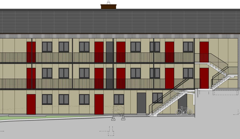 Totalsanierung Mehrfamilienhaus 13