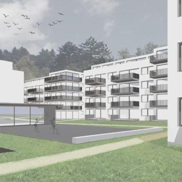 Wettbewerb Wohnsiedlung Baugenossenschaft Burgmatte