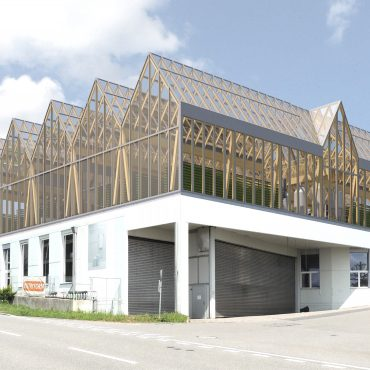 Neubau Urban-Farming Industriehalle 3