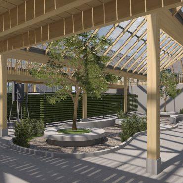 Neubau Urban-Farming Industriehalle 1