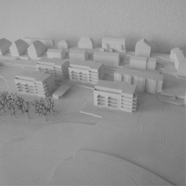 Wettbewerb Wohnsiedlung Baugenossenschaft Burgmatte 4