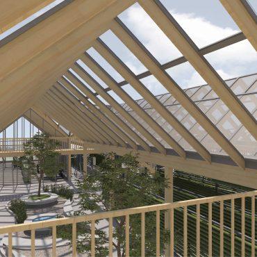 Neubau Urban-Farming Industriehalle 2