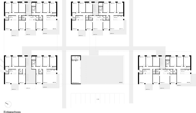 Wettbewerb Wohnsiedlung Baugenossenschaft Burgmatte 9