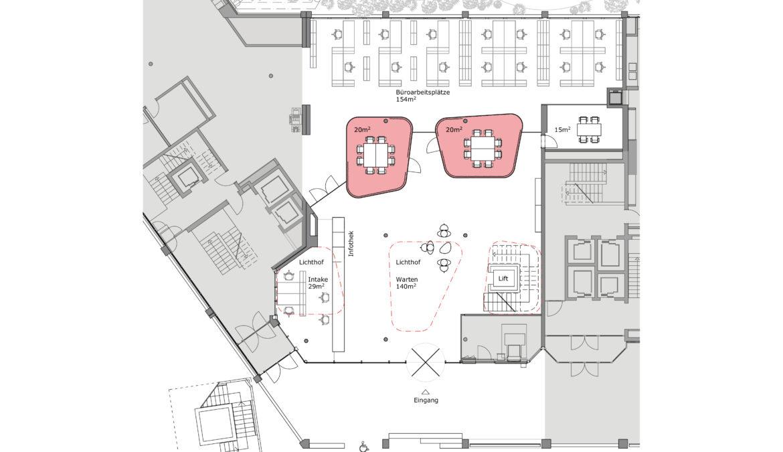 Wettbewerb Sozialzentrum Röschibach 9