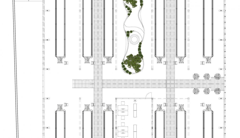 Neubau Urban-Farming Industriehalle 9