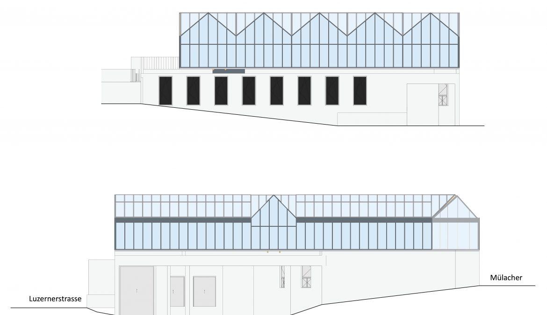 Neubau Urban-Farming Industriehalle 10