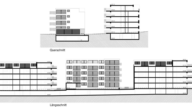 Wettbewerb Wohnsiedlung Baugenossenschaft Burgmatte 11