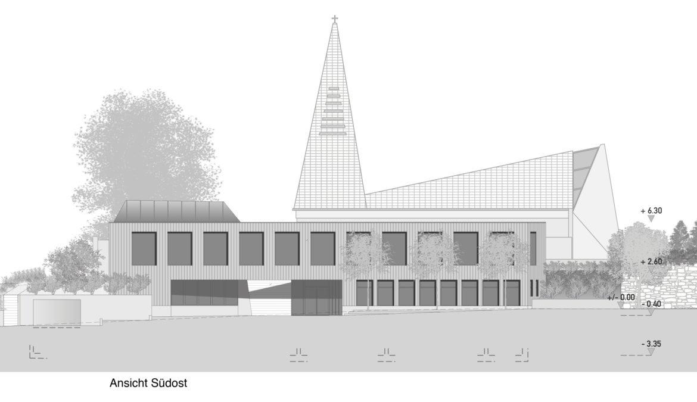 Wettbewerb Ersatzneubau Pfarreigebäude St. Maria 12