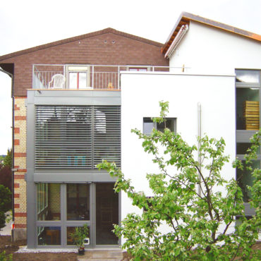 An- und Umbau Mehrfamilienhaus