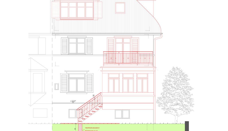 Um- und Anbau Reiheneinfamilienhaus 13