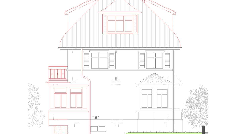 Um- und Anbau Reiheneinfamilienhaus 14