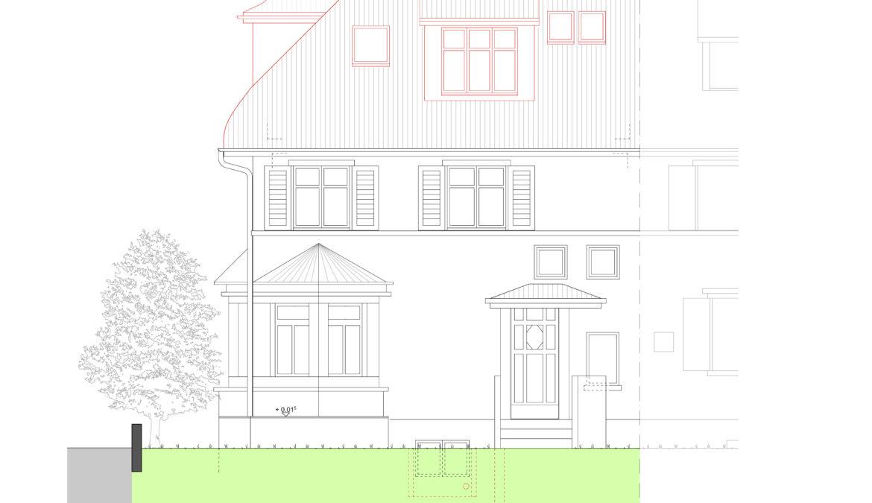 Um- und Anbau Reiheneinfamilienhaus 15