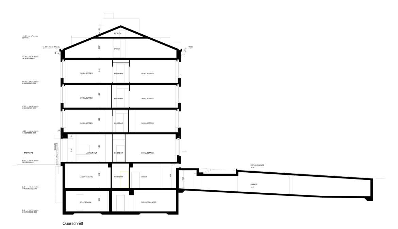 Sanierung und Anbau Berufsschule für Hörgeschädigte in Etappen 13