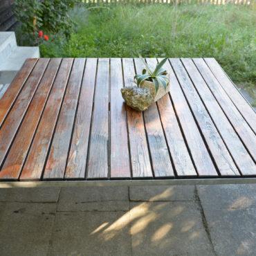Design Gartentisch 1