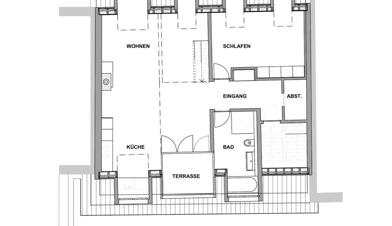 Ausbau Dachgeschoss und Sanierung Fassaden 9
