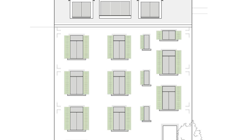 Ausbau Dachgeschoss und Sanierung Fassaden 10