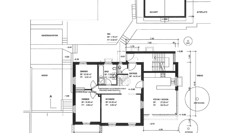 An- und Umbau Mehrfamilienhaus 9