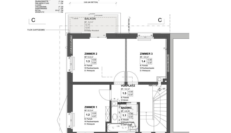 Um- und Anbau Reiheneinfamilienhaus 10