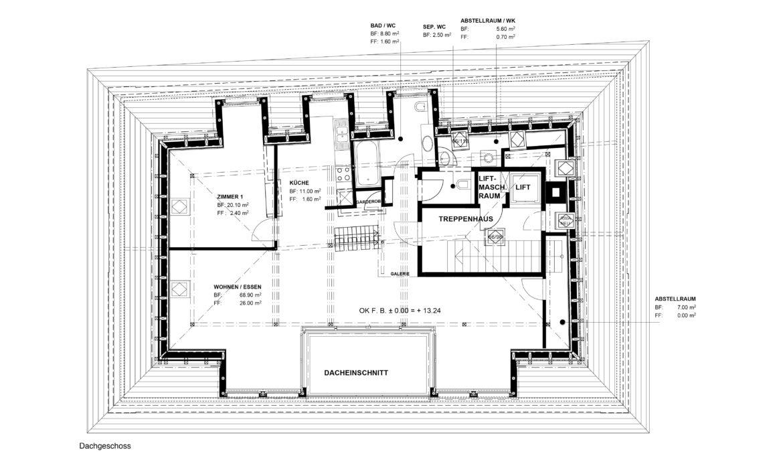 Sanierung und Dachstockausbau Mehrfamilienhaus 9