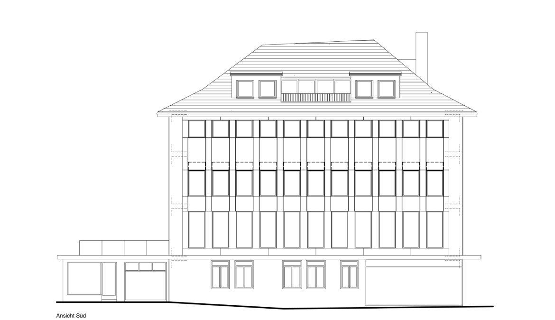 Sanierung und Dachstockausbau Mehrfamilienhaus 10