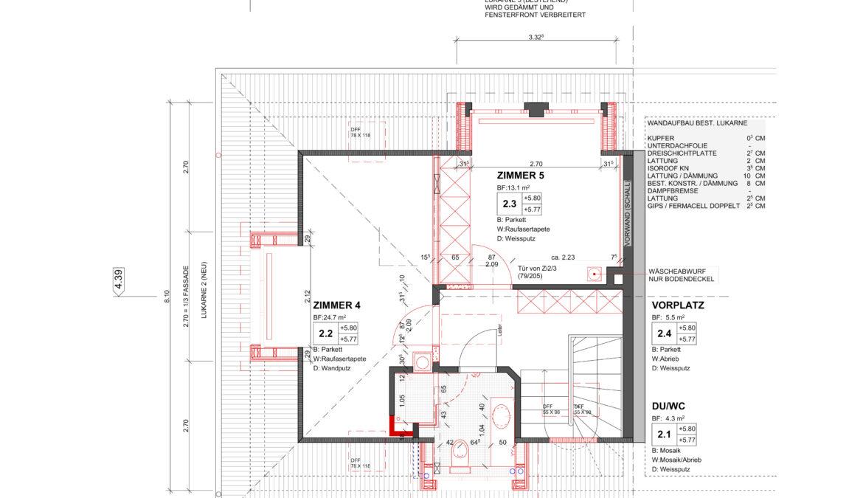 Um- und Anbau Reiheneinfamilienhaus 11
