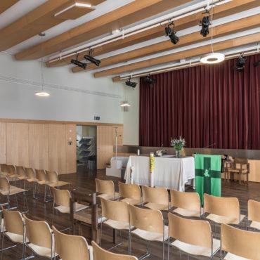 Um- und Anbau Pfarreizentrum Guthirt 2