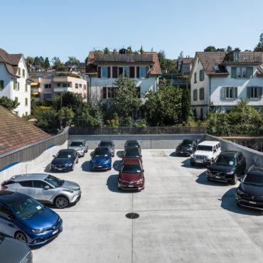 Sanierung und Neugestaltung Autoausstellungsplatz