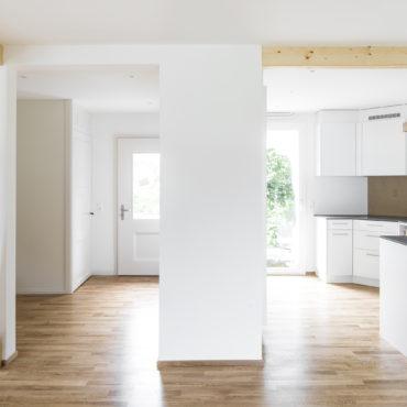Umbau und Renovation Einfamilienhaus in Etappen 1