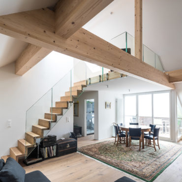 Ausbau Dachgeschoss und Sanierung Fassaden 2
