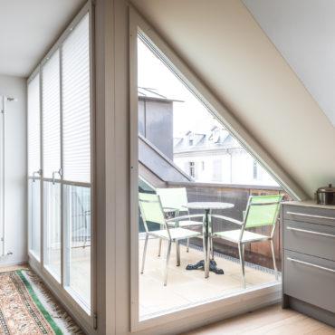 Ausbau Dachgeschoss und Sanierung Fassaden 1