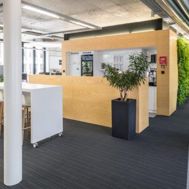Büro- und Laborausbau Geschäftshaus 3