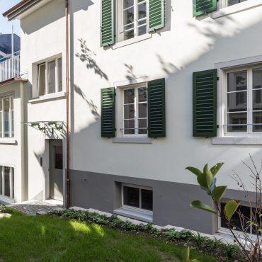 Umbau und Sanierung Mehrfamilienhaus 4