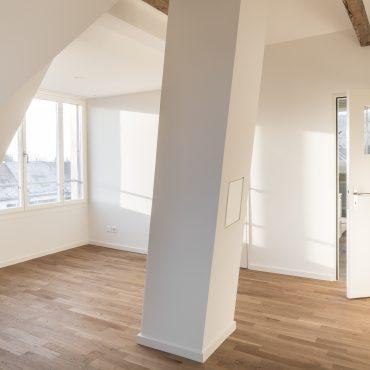 Umbau und Dachstockausbau Einfamilienhaus 2