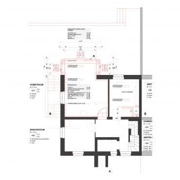 Um- und Anbau Reiheneinfamilienhaus 7