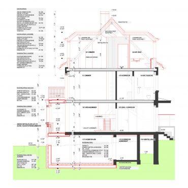 Um- und Anbau Reiheneinfamilienhaus 4