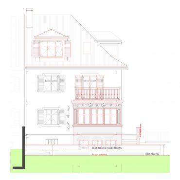 Um- und Anbau Reiheneinfamilienhaus 8