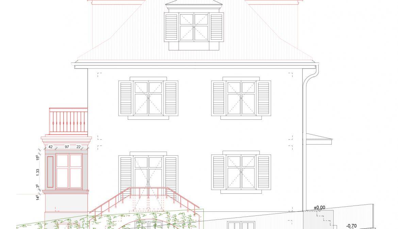 Um- und Anbau Reiheneinfamilienhaus 9
