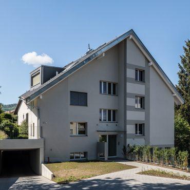 Dachstockausbau und Fassadensanierung Mehrfamilienhaus
