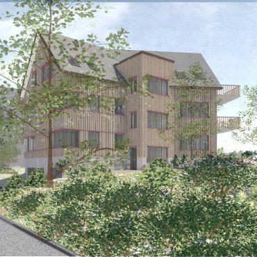 Wettbewerb Neubau Mehrfamilienhaus 1