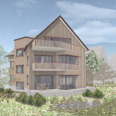 Wettbewerb Neubau Mehrfamilienhaus