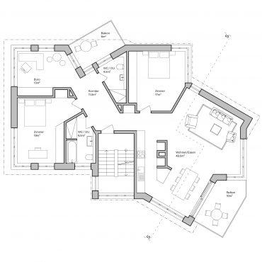 Wettbewerb Neubau Mehrfamilienhaus 6