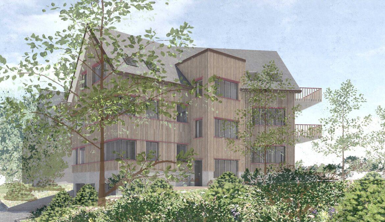 Wettbewerb Neubau Mehrfamilienhaus 9