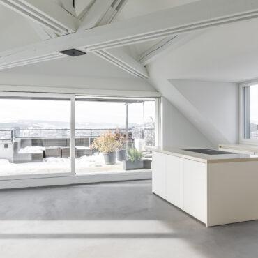 Umbau 2. Obergeschoss und Dachgeschoss