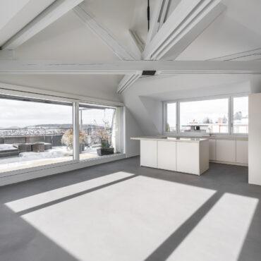 Umbau 2. Obergeschoss und Dachgeschoss 1