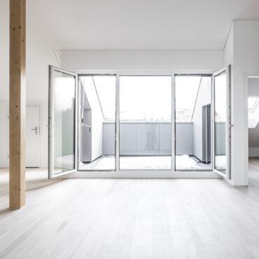 Dachstockausbau, Fassaden- und Bädersanierung MFH
