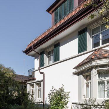 Um- und Anbau Reiheneinfamilienhaus 1